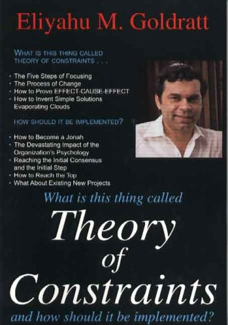 What Is This Thing Called Theory of Constraints 9780884271666