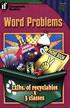 Word Problems Homework Booklet, Grade 4 9780880128629