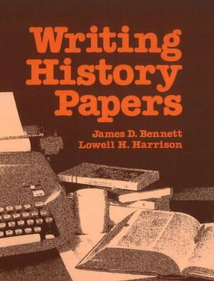 Writing History Papers 9780882731056