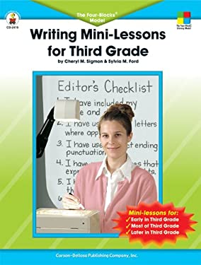 Writing Mini-Lessons for Third Grade: The Four-Blocks Model 9780887248153