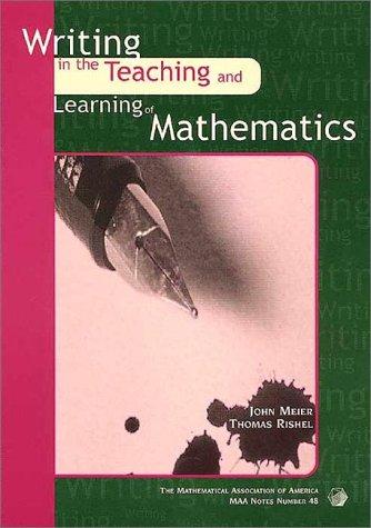 Writing Teaching Learning Math 9780883851586