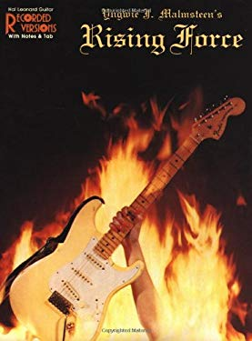 Yngwie Malmsteen - Rising Force: Guitar Recorded Versions 9780881886221