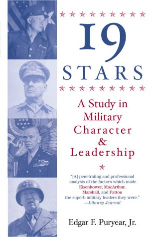 19 Stars: A Study in Military Character and Leadership 9780891411482
