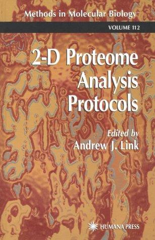 2-D Proteome Analysis Protocols 9780896035249