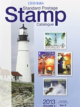 2013 Scott Standard Postage Stamp Catalogue Volume 6 Countries of the World San-Z