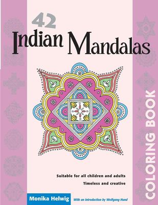 42 Indian Mandalas Coloring Book
