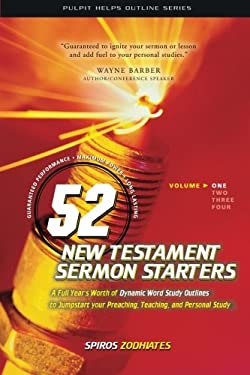 52 New Testament Sermon Starters Book One 9780899574851