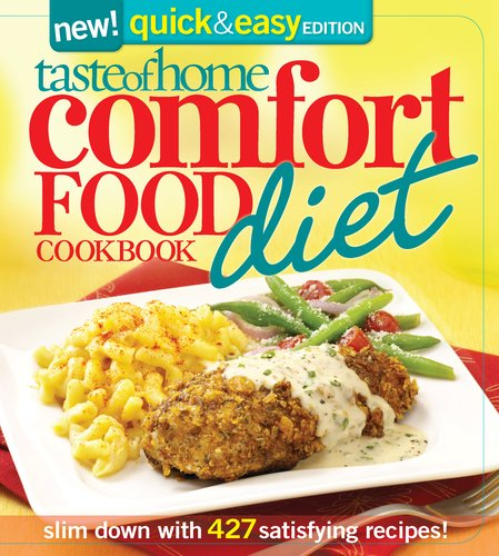 Comfort Food Diet Cookbook 9780898219104