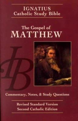 Gospel of Matthew: Ignatius Study Bible 9780898708172