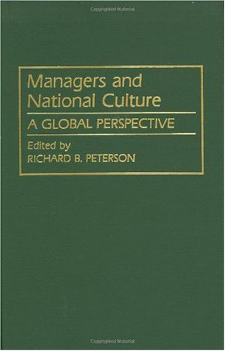 Managers and National Culture: A Global Perspective 9780899306025