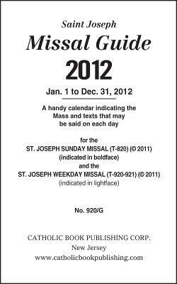 Saint Joseph Missal Guide 9780899421858