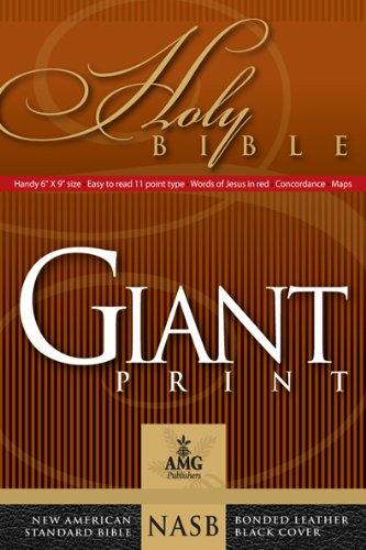 Giant Print Handy-Size Bible-NASB 9780899579443