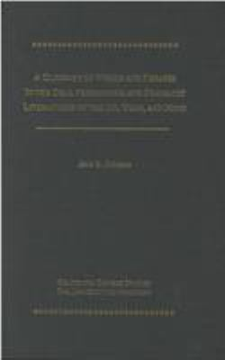 A Glossary of Words and Phrases in the Oral Performing and Dramatic Literatures of 9780892641383
