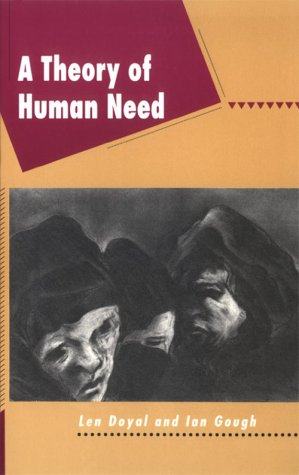 A Theory of Human Need 9780898624199