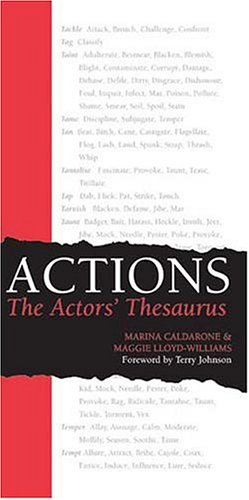 Actions: The Actors' Thesaurus 9780896762527