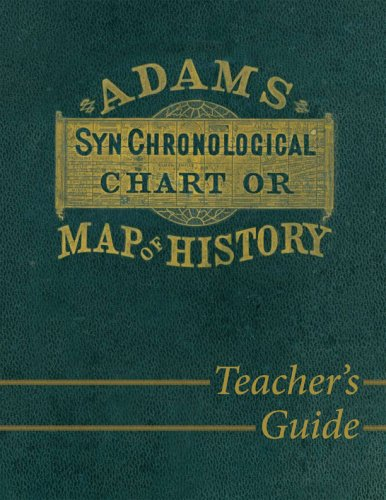 Adams Synchronological Chart or Map of History 9780890515358