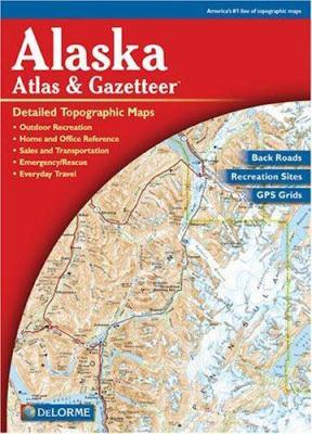 Alaska - Delorme 3rd / 9780899332895