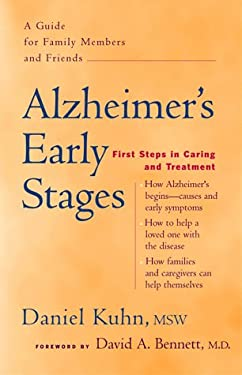 Alzheimer's Early Stages: First Steps in Caring and Treatment 9780897932622