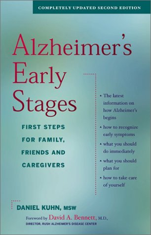 Alzheimer's Early Stages: First Steps for Family, Friends and Caregivers 9780897933971