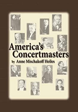 America's Concertmasters 9780899901398