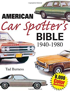 American Car Spotter's Bible 1940-1980 9780896891791