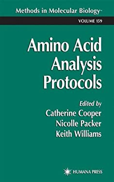 Amino Acid Analysis Protocols 9780896036567
