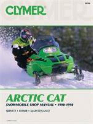 Arctic Cat Snowmobile Shop Manual, 1990-1998 9780892877010