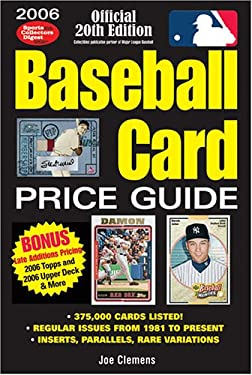 Baseball Card Price Guide 9780896892989