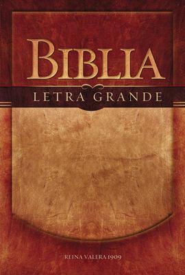Biblia Letra Grande-RV 1909 9780899220130