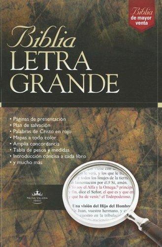 Biblia Letra Grande-RV 1960 9780899227085