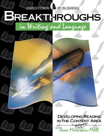 Breakthroughs in Writing and Language: Developing Writing and Language Skills 9780890618066