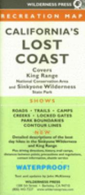 Califorina's Lost Coast Recreaton Map 9780899973760