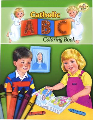 Catholic ABC Coloring Book 9780899426730