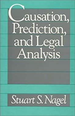 Causation, Prediction, and Legal Analysis 9780899301808