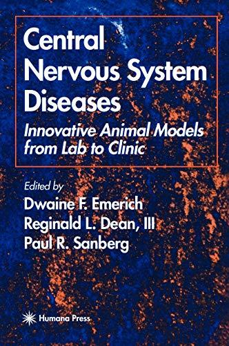 Central Nervous System Diseases 9780896037243