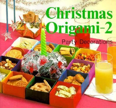 Christmas origami 2 party decorations by heian for International party decor