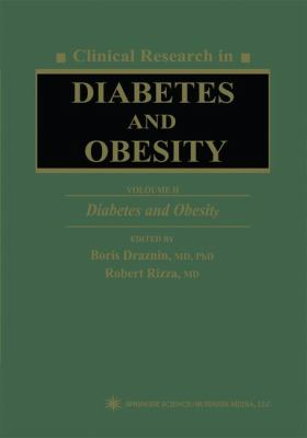 Clinical Research in Diabetes and Obesity, Volume 2: Diabetes and Obesity 9780896034921