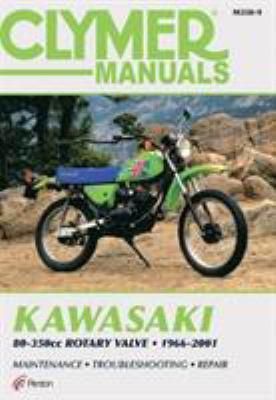 Clymer Kawasaki 80-350cc Rotar 9780892878208