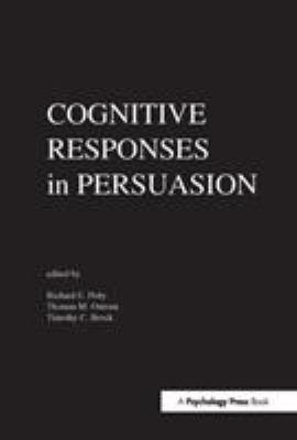 Cognitive Responses in Persuasion 9780898590258
