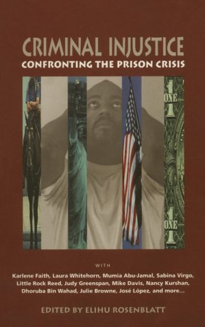 Criminal Injustice: Confronting the Prison Crisis 9780896085398