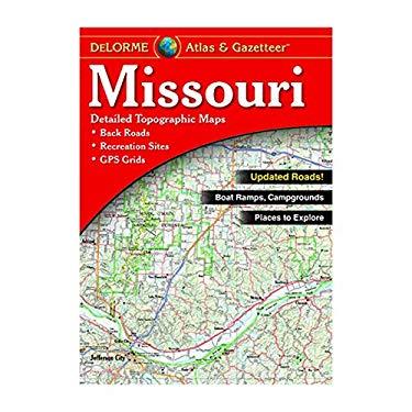 DeLorme Missouri Atlas & Gazetteer