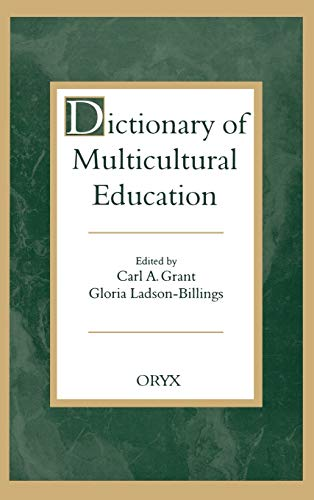 Dictionary of Multicultural Education 9780897747981