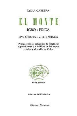 El Monte 9780897290098