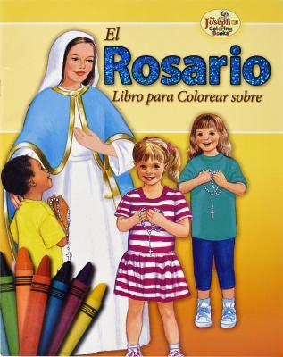 El Rosario Coloring Book 9780899426686