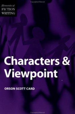 Elements of Fiction Writing - Characters & Viewpoint 9780898799279