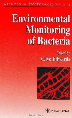 Environmental Monitoring of Bacteria 9780896035669