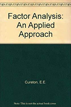 Factor Analysis, an Applied Approach