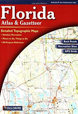 Florida Atlas & Gazetteer 9780899333182