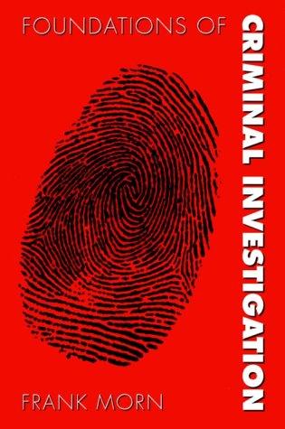 Fundamentals of Criminal Investigation 9780890898741