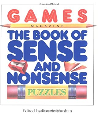 Games Magazine the Book of Sense and Nonsense Puzzles 9780894809309